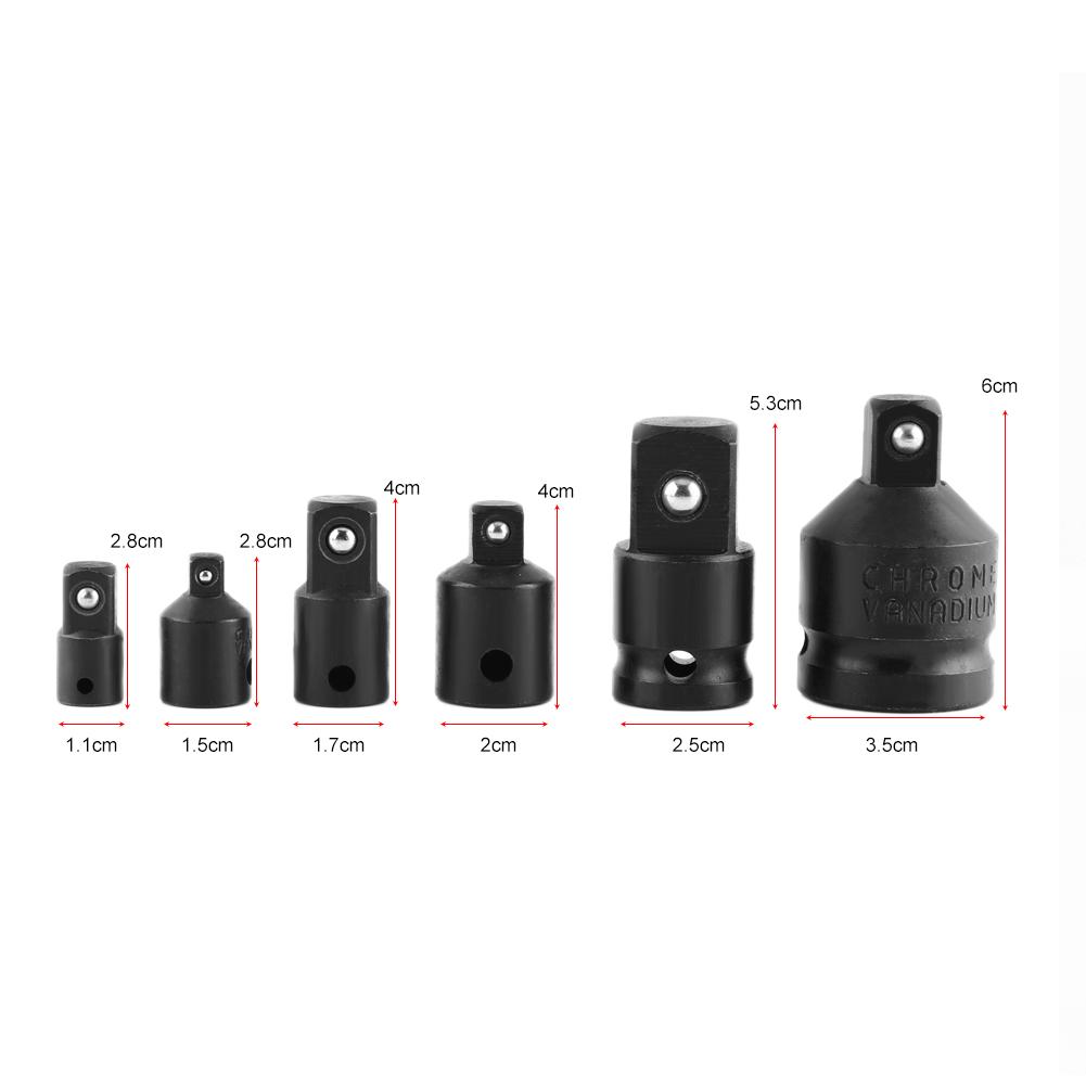 1//2 à 3//8 pneumatique Manche Adaptateur Tête Adaptateur Douille Réducteur Air Impact à