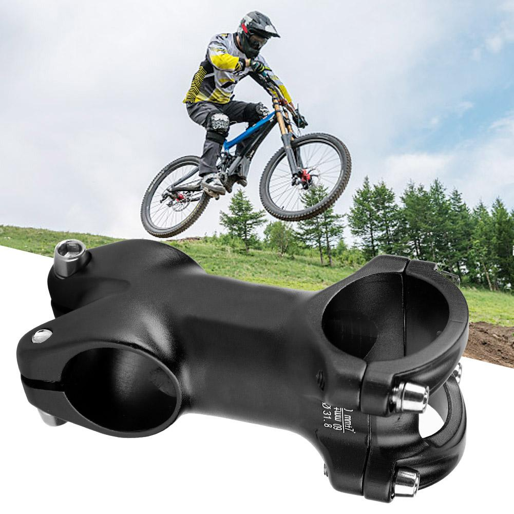 Bike Mountain Bicycle Short Handlebar Stem Riser Fixed 25.4mm Aluminum Alloy