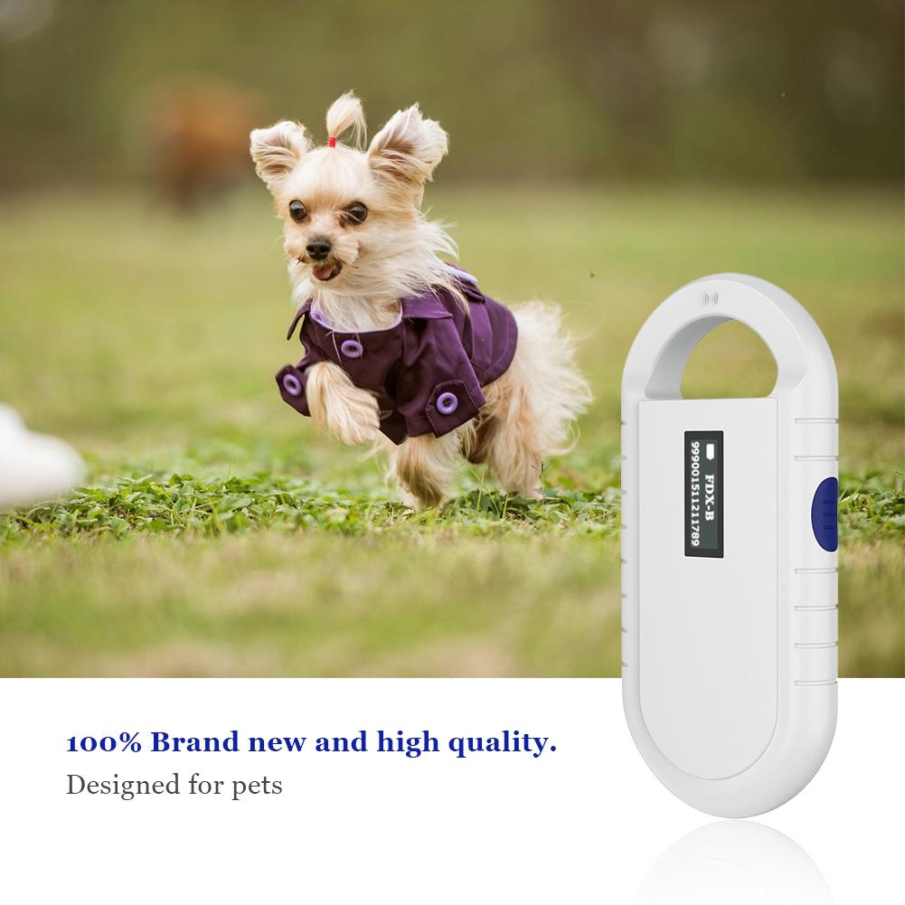 Universal Animal Handheld RFID Chip Reader Microchip ...