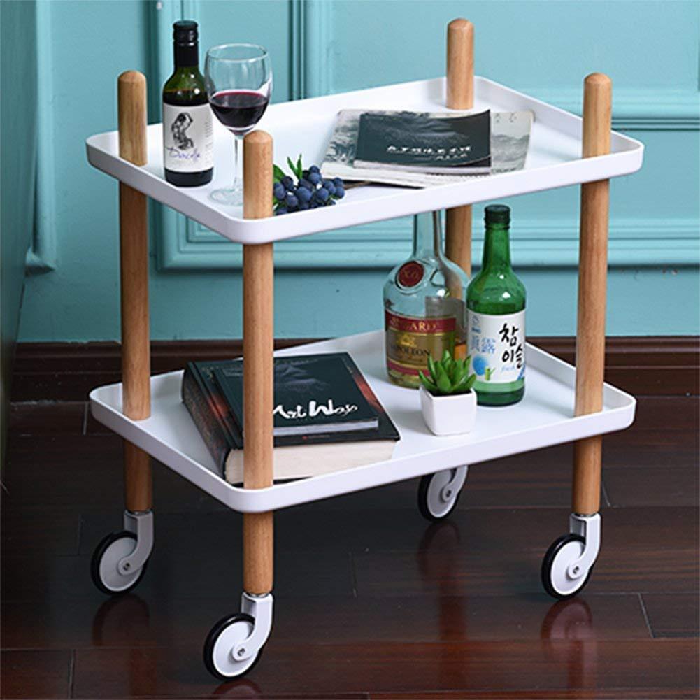 2 Tier Mobile Kitchen Trolley Organizer