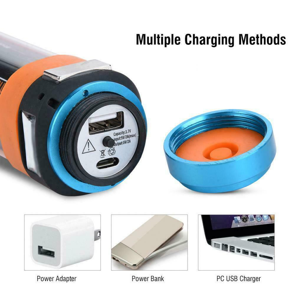 High quality Rechargeable LEDLamp light torch  Hi Vis Magnetic UK Plug /& Charger