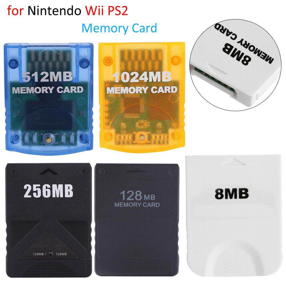 1PC 8MB 16MB 32MB 128MB Memory Card For Sony PlayStation 2 PS2 Accessories New