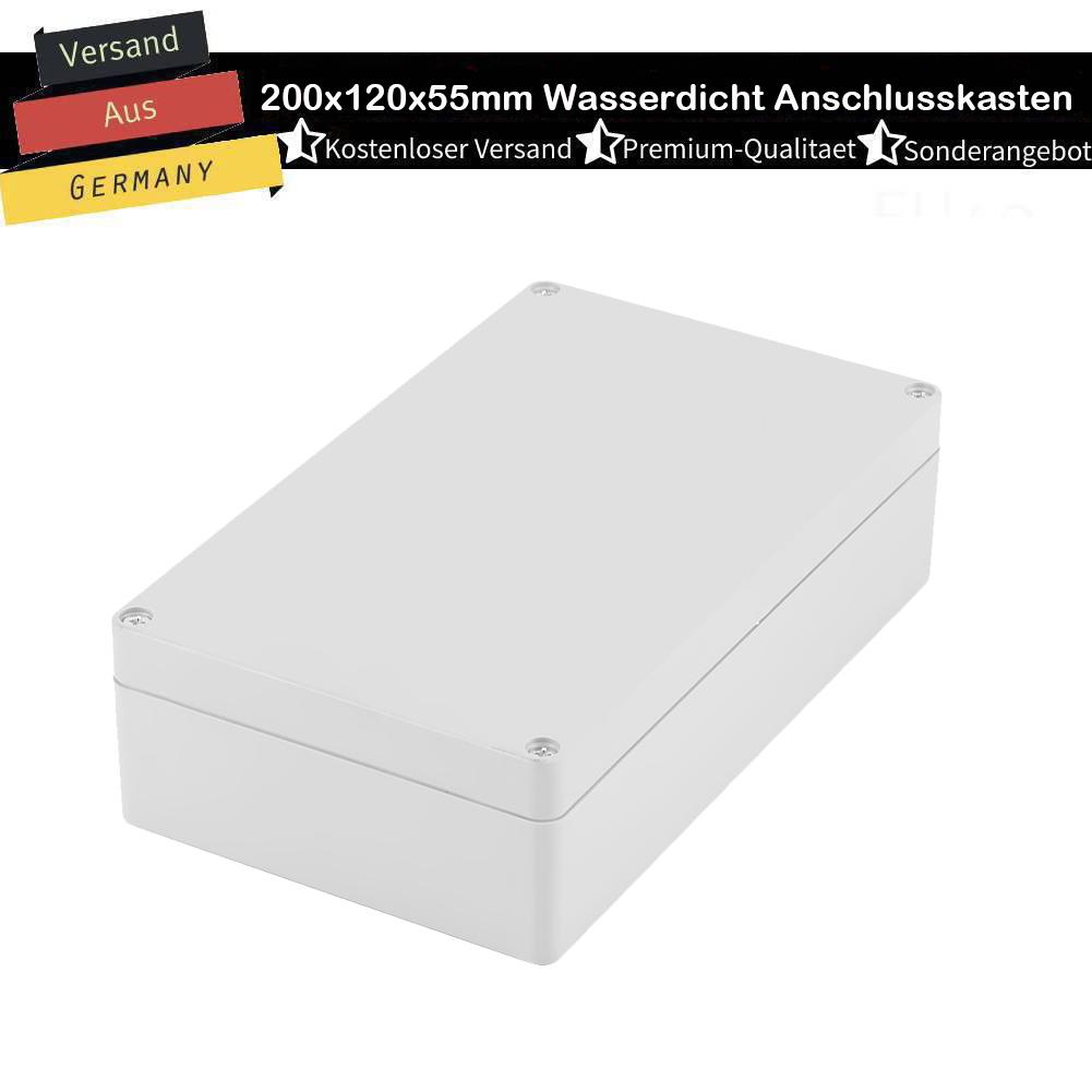 20x12x5.5 cm Anschlussdose Verteilerdose Abzweigdose Klemmdose IP65 Wasserdicht