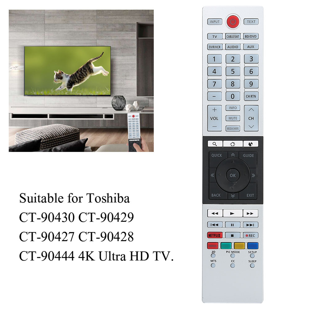 Indexbild 74 - Universal TV Remote Control for Sony Sharp Philips TCL Toshiba Hisense Hitachi