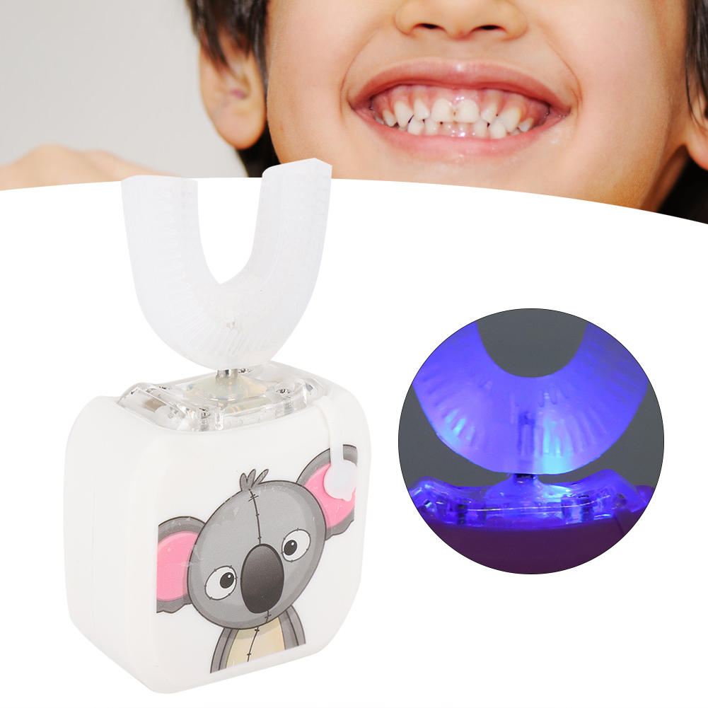 Infant-Children-Automatic-Electric-Toothbrush-360-U-Shape-Teeth-Cleaning-Brush thumbnail 21