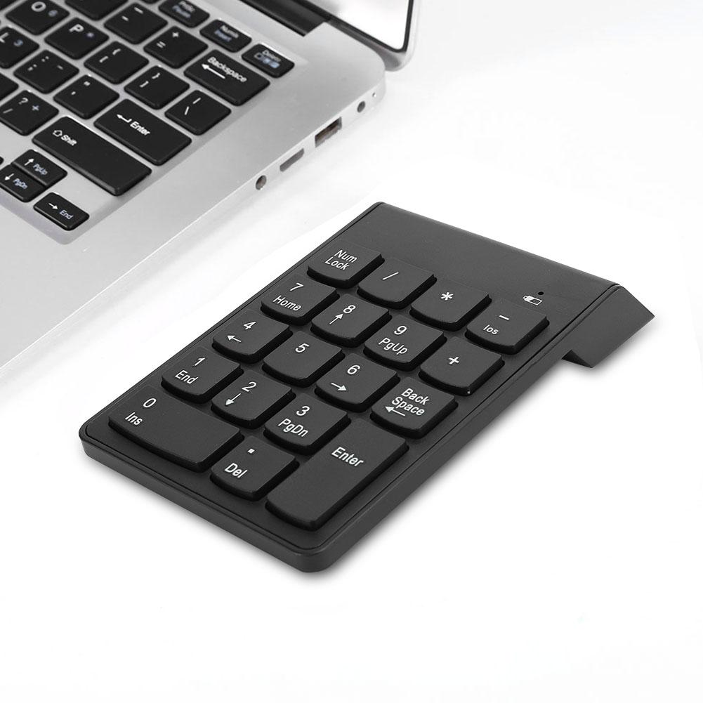 Portable-USB-Bluetooth-Numeric-Keypad-Keyboard-Numpad-Number-Num-Pad-18-Keys thumbnail 20