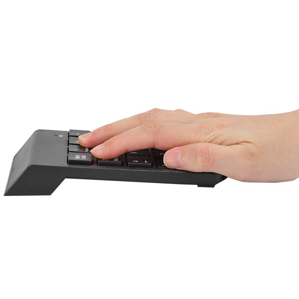 Portable-USB-Bluetooth-Numeric-Keypad-Keyboard-Numpad-Number-Num-Pad-18-Keys thumbnail 19