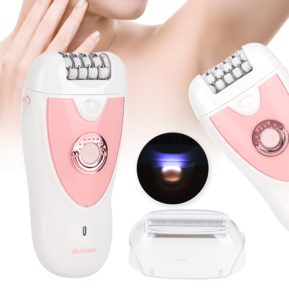 2in1 Women Shaver Electric Epilator Hair Removal Machine For Leg