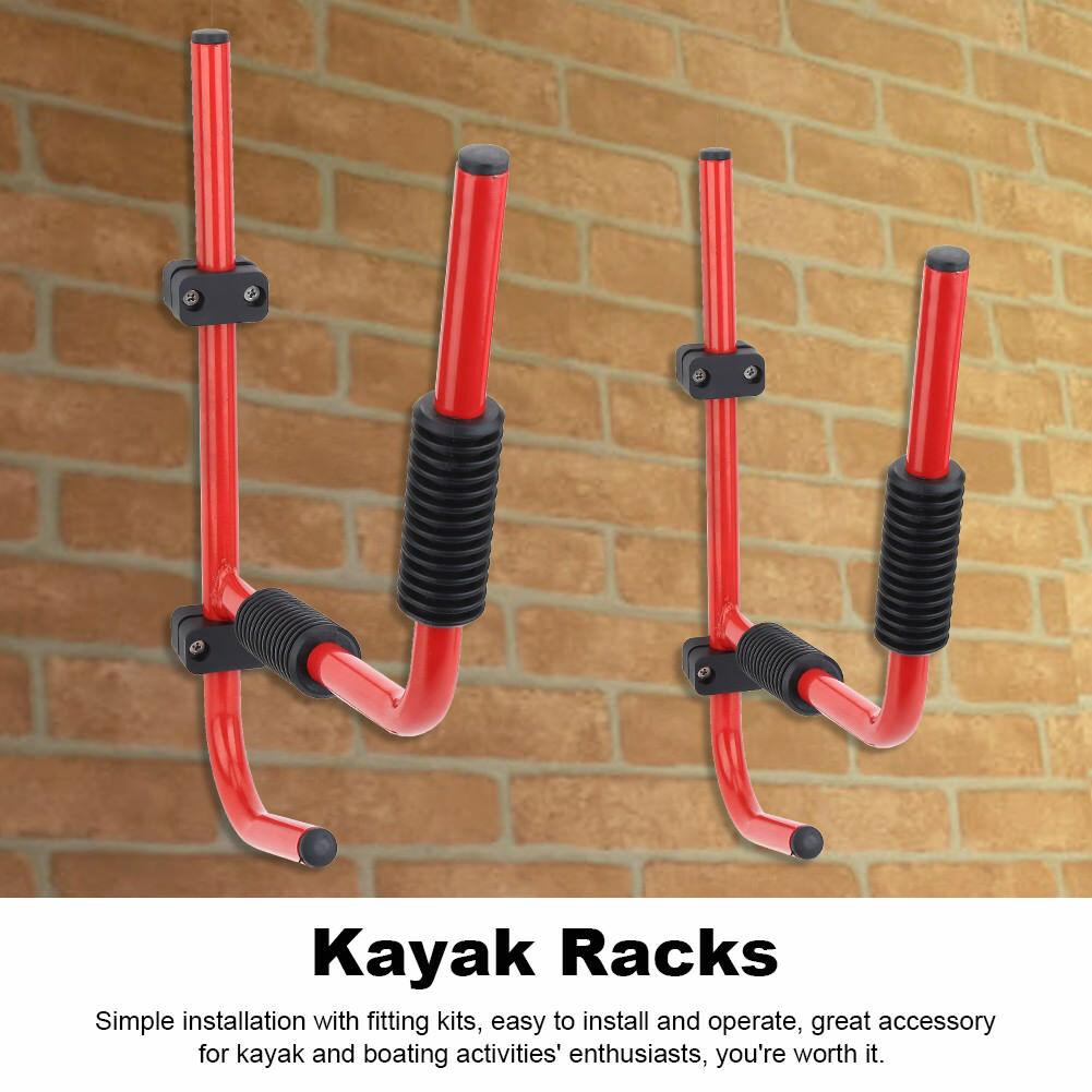 1 Paar Kajak Wandhalter Kanu Wandhalterung Lagerung Ablage Aufbewahrung Rack DE