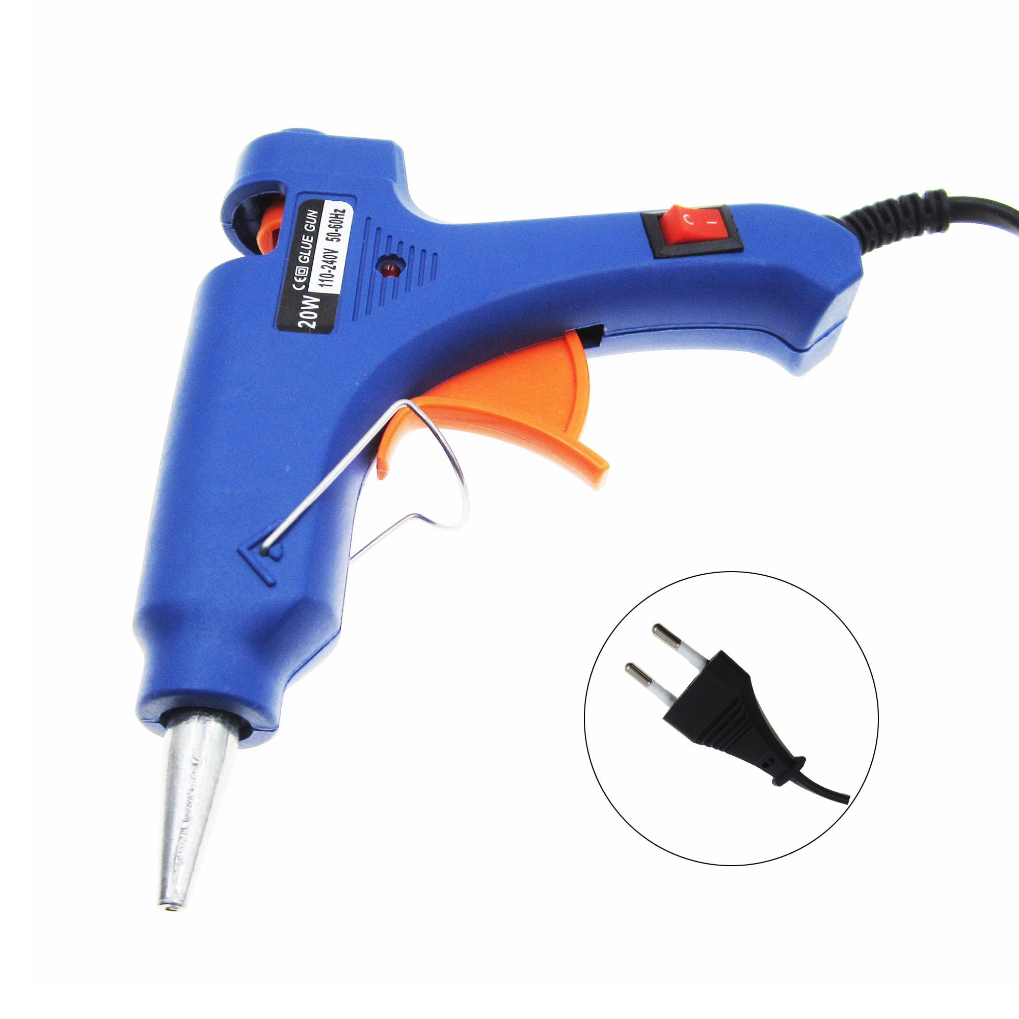 20W 110-220V US//EU Plug Professional Mini Electric Heating Hot Melt Glue Gun New