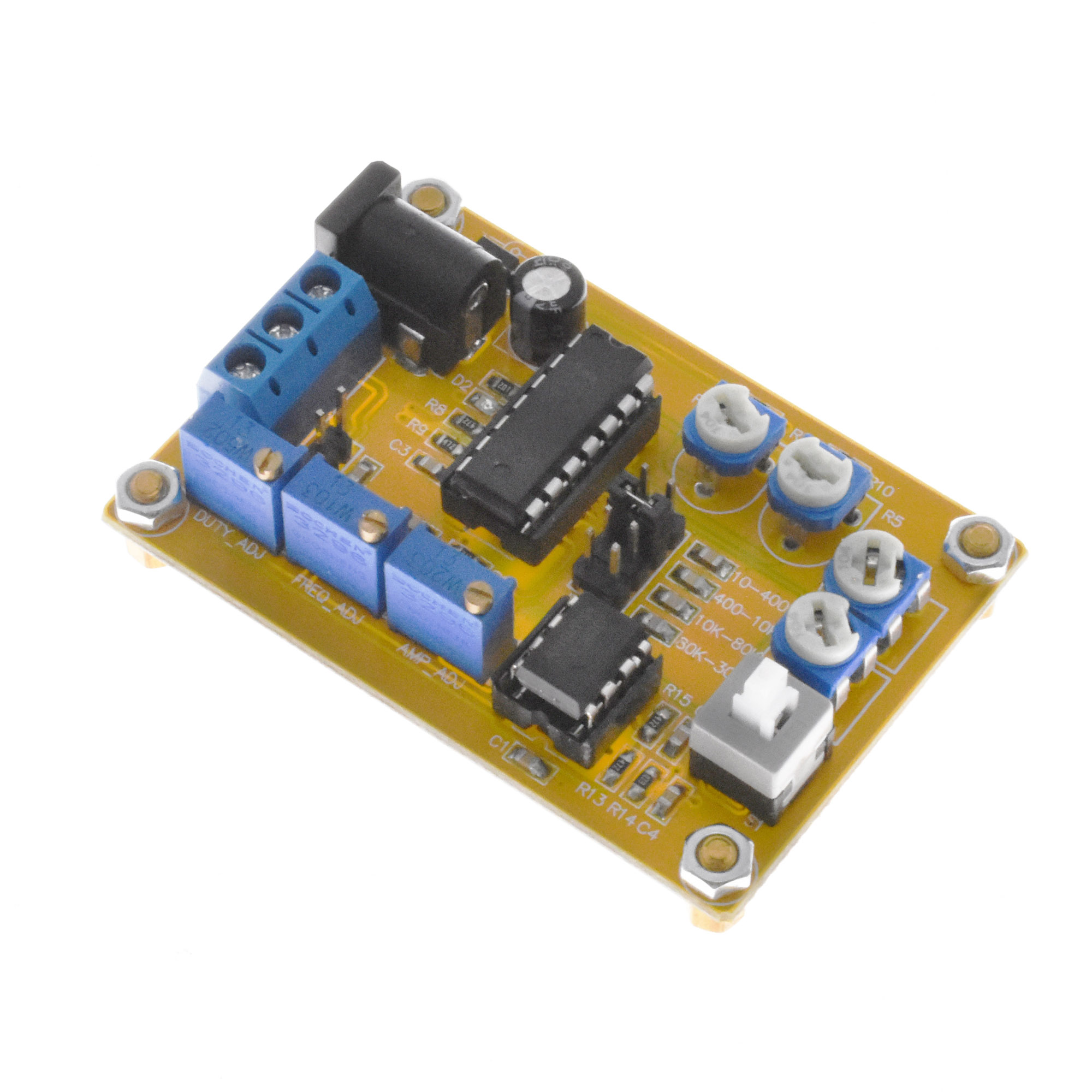 ICL8038 Function Signal Generator Module IC DIY Sine Square Triangle Wave DDS
