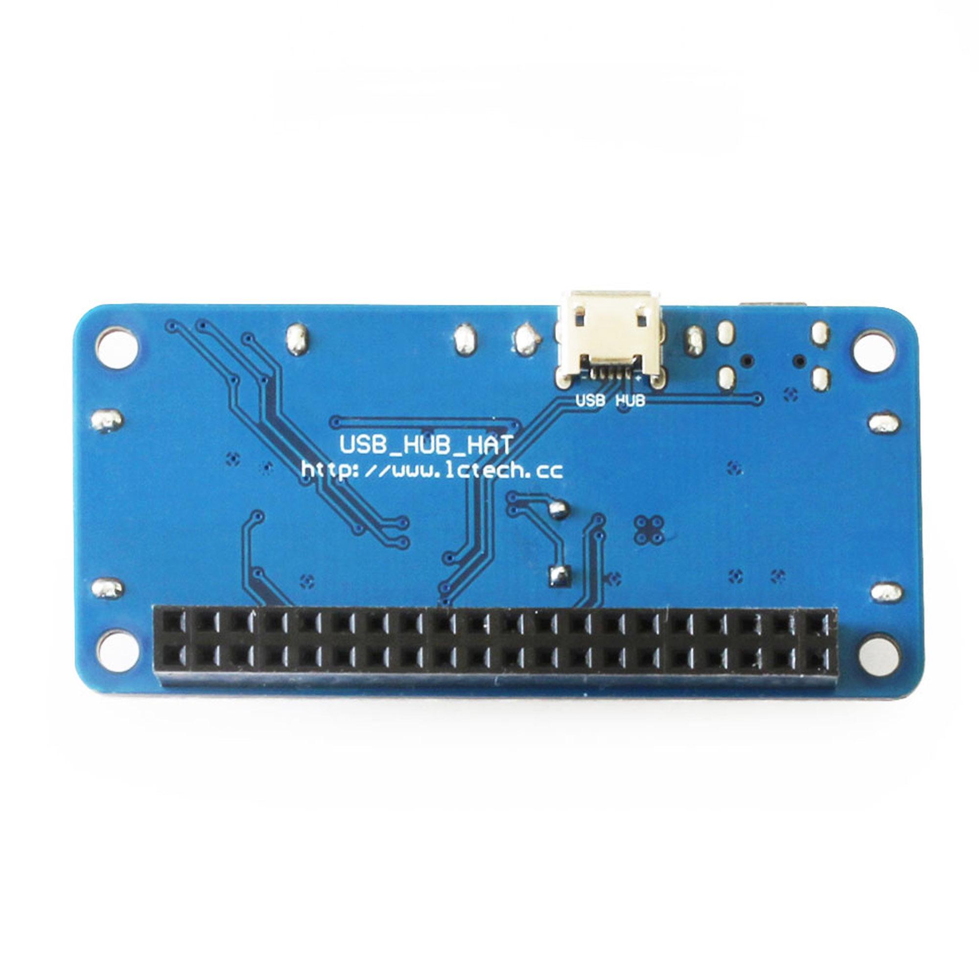 Details about 4 Port USB HUB HAT Expansion Board for Raspberry Pi 3 Model B  /Zero V1,3/Zero W