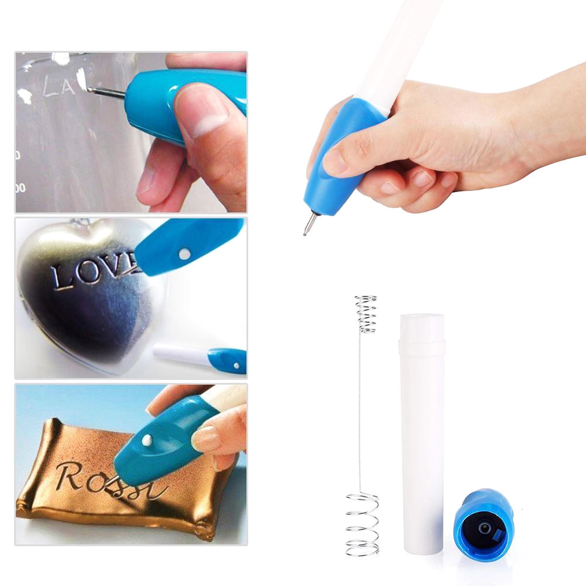DIY Engraver Pen schnitzen Werkzeug für Schmuck Metall Kunststoff Holz AHS