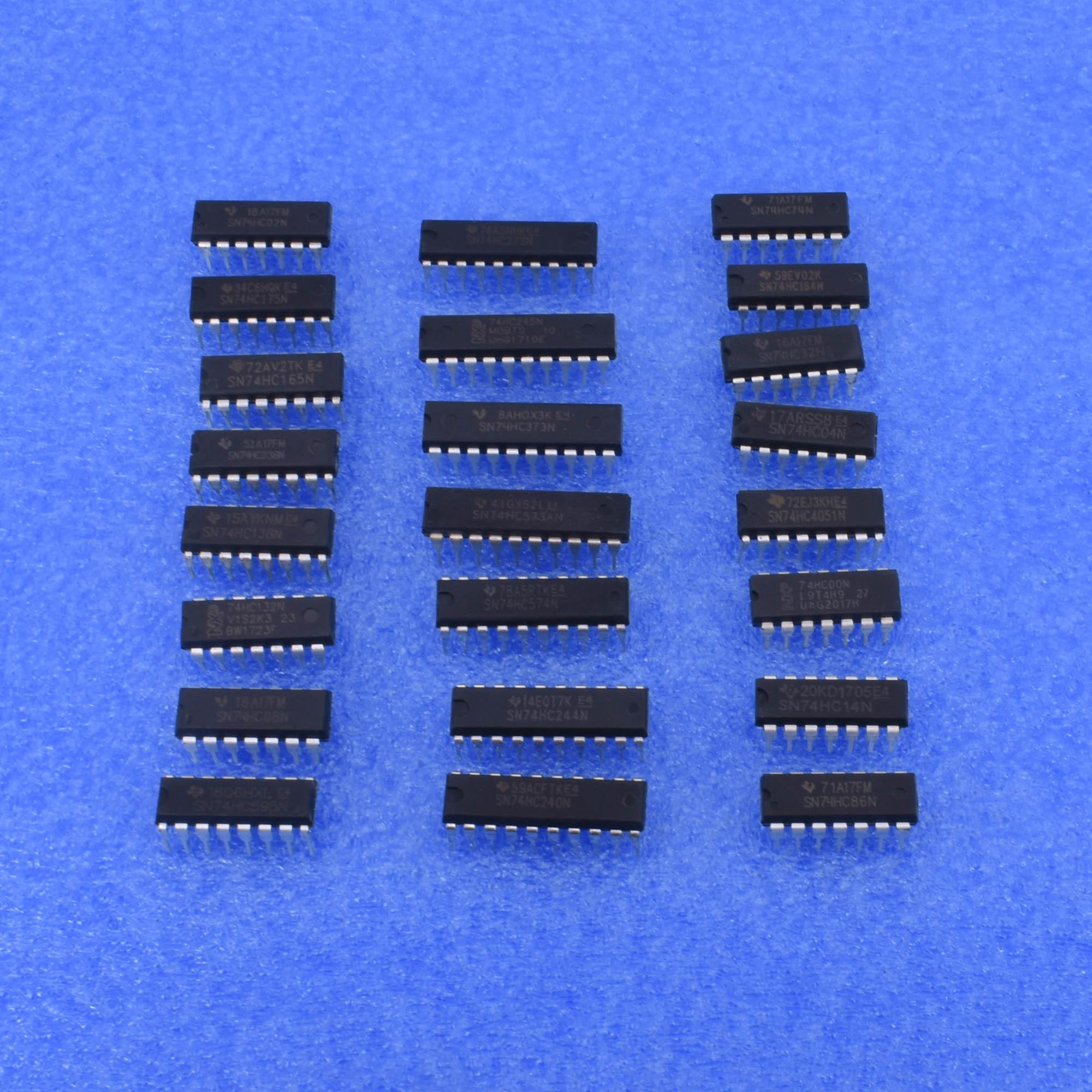 DIP SN74HC00N-SN74HC574N 74HC4051 74HC04N 74HC08N 74HC138N 74HC238N 74HC373N US