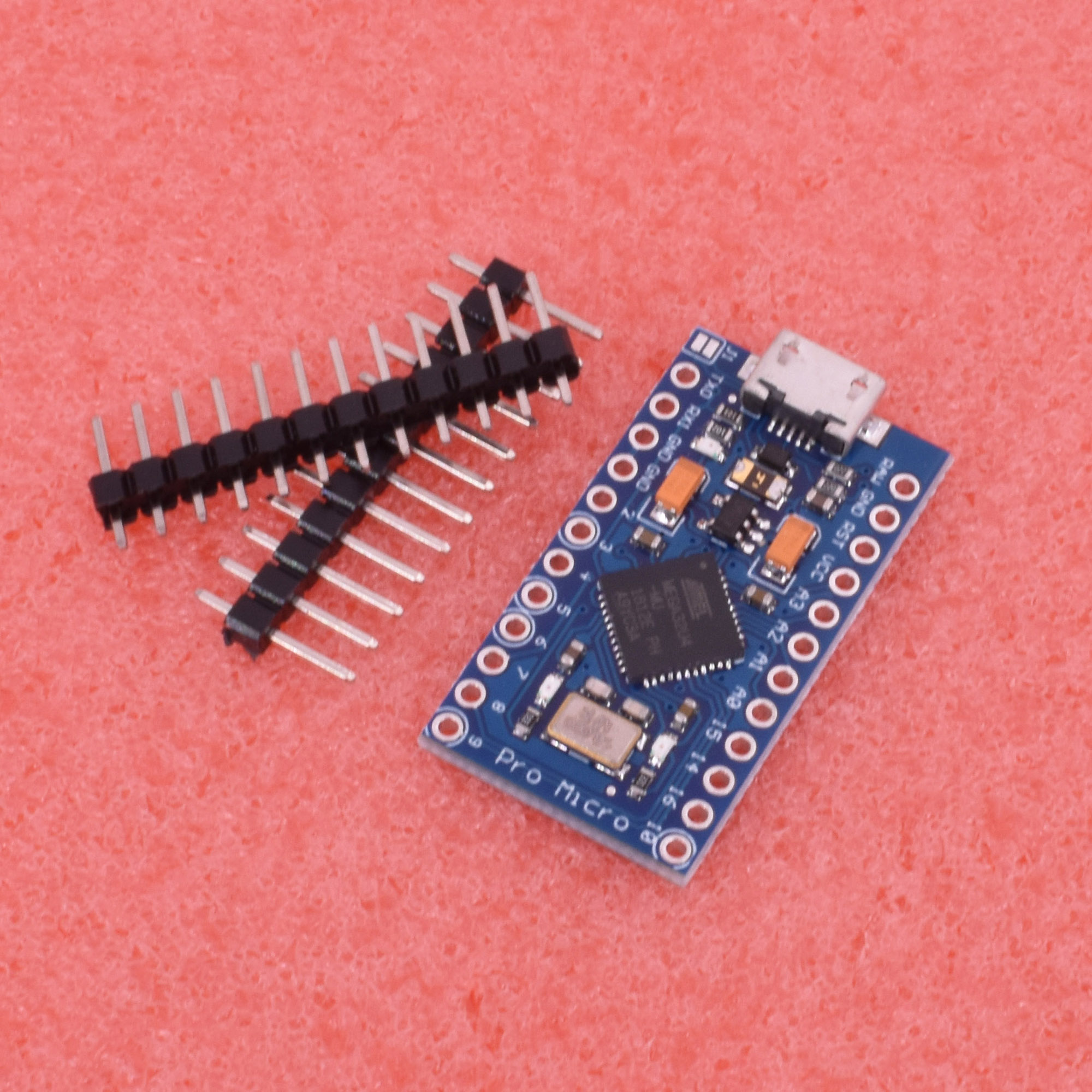 Nuevo Pro Micro Atmega 32u4 5v 16mhz Reemplazar Atmega 328 Arduino Pro Mini Ebay