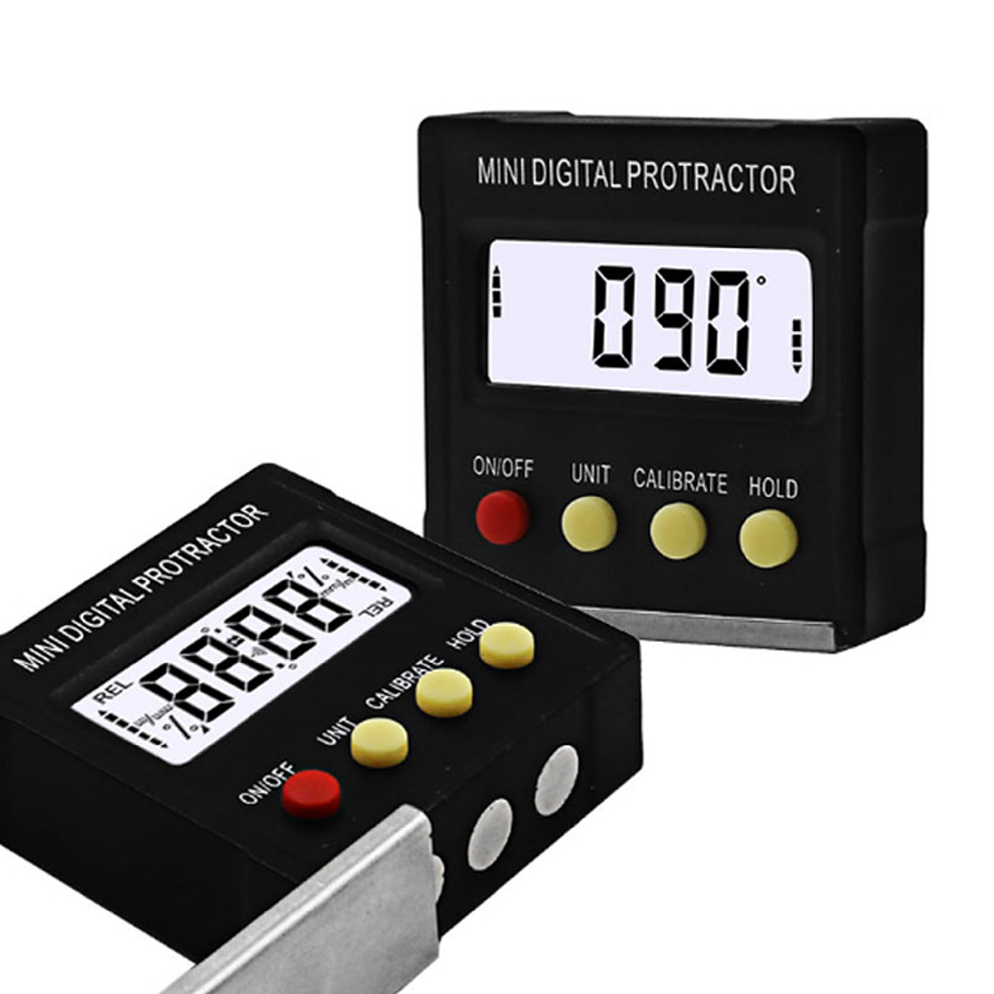 360 Degree Mini Digital Protractor Inclinometer Electronic Level Box Magnetic