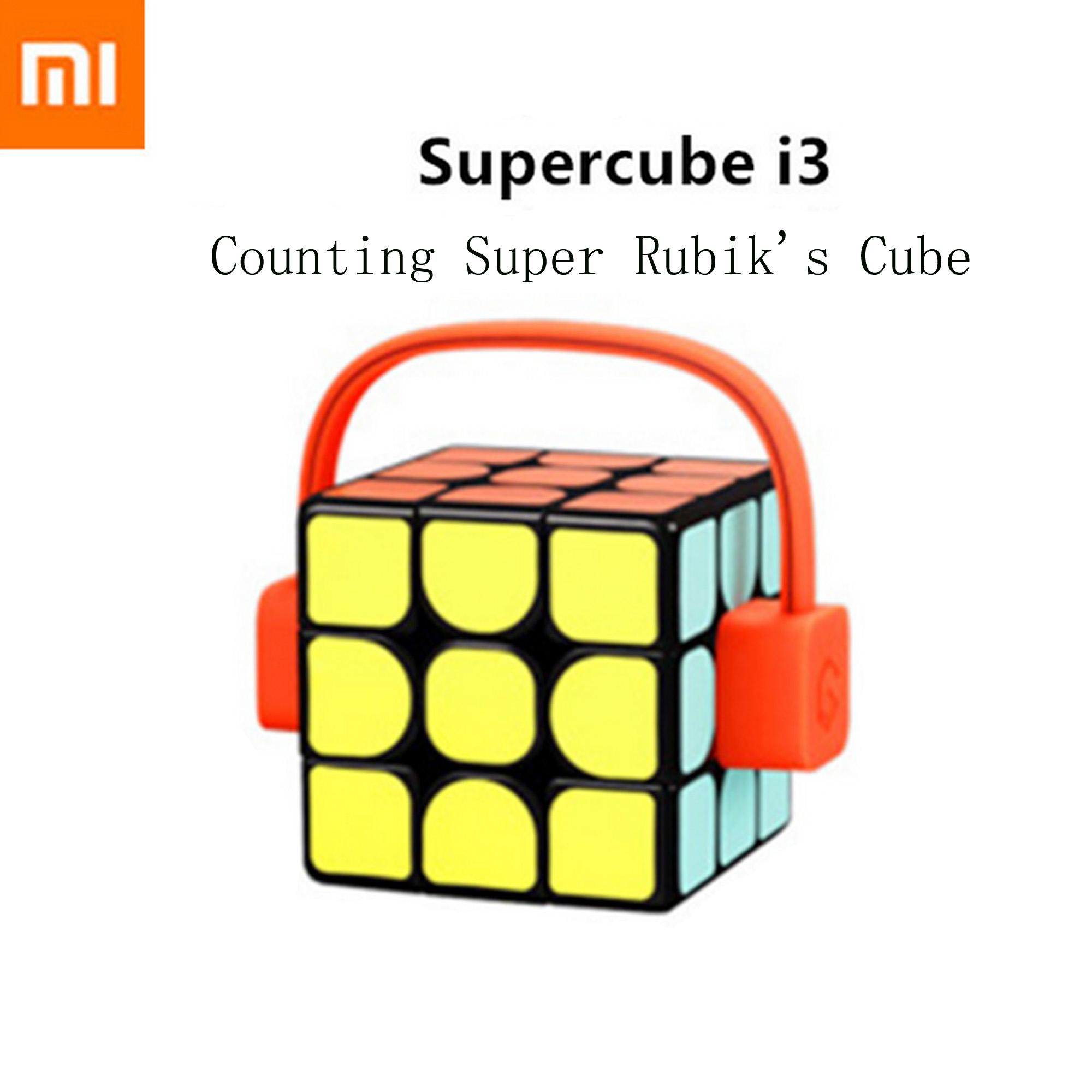 Xiaomi Giiker i3 Super Smart Cube Magic Cube Puzzles APP Motion TrackRecord C3M0