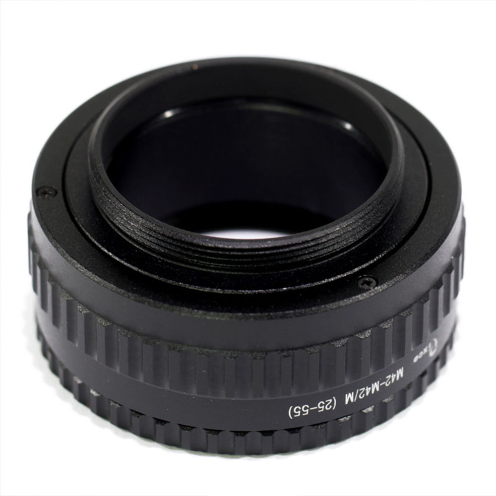 Adjustable Focusing Helicoid Adapter for NIKON F Macro Extension Tube 29-135mm
