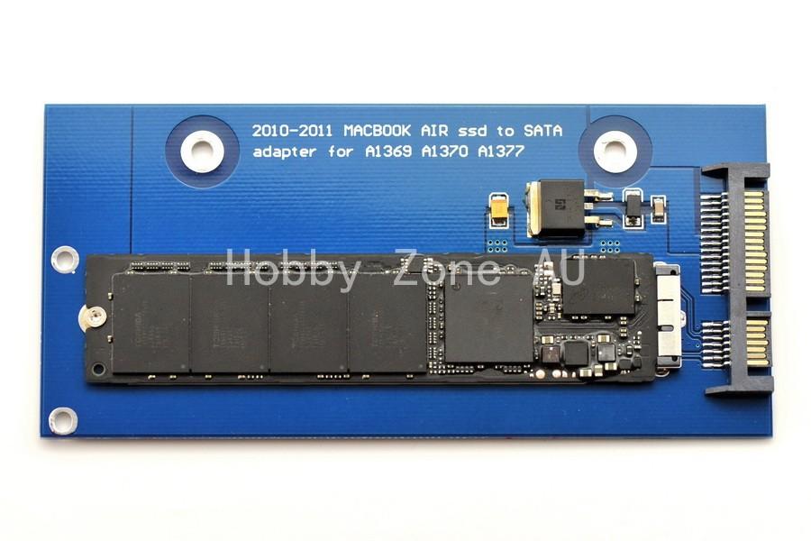 12+6 Pin SSD to SATA Converter Adapter Card For Macbook Air 2010 2011 Macbook