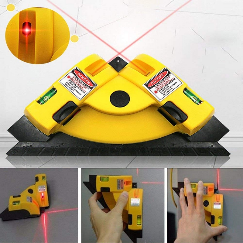 Image result for Right Angle 90 Degree Square Laser Level Vertical Horizontal Laser Line Projection Measurement Tool Laser Level