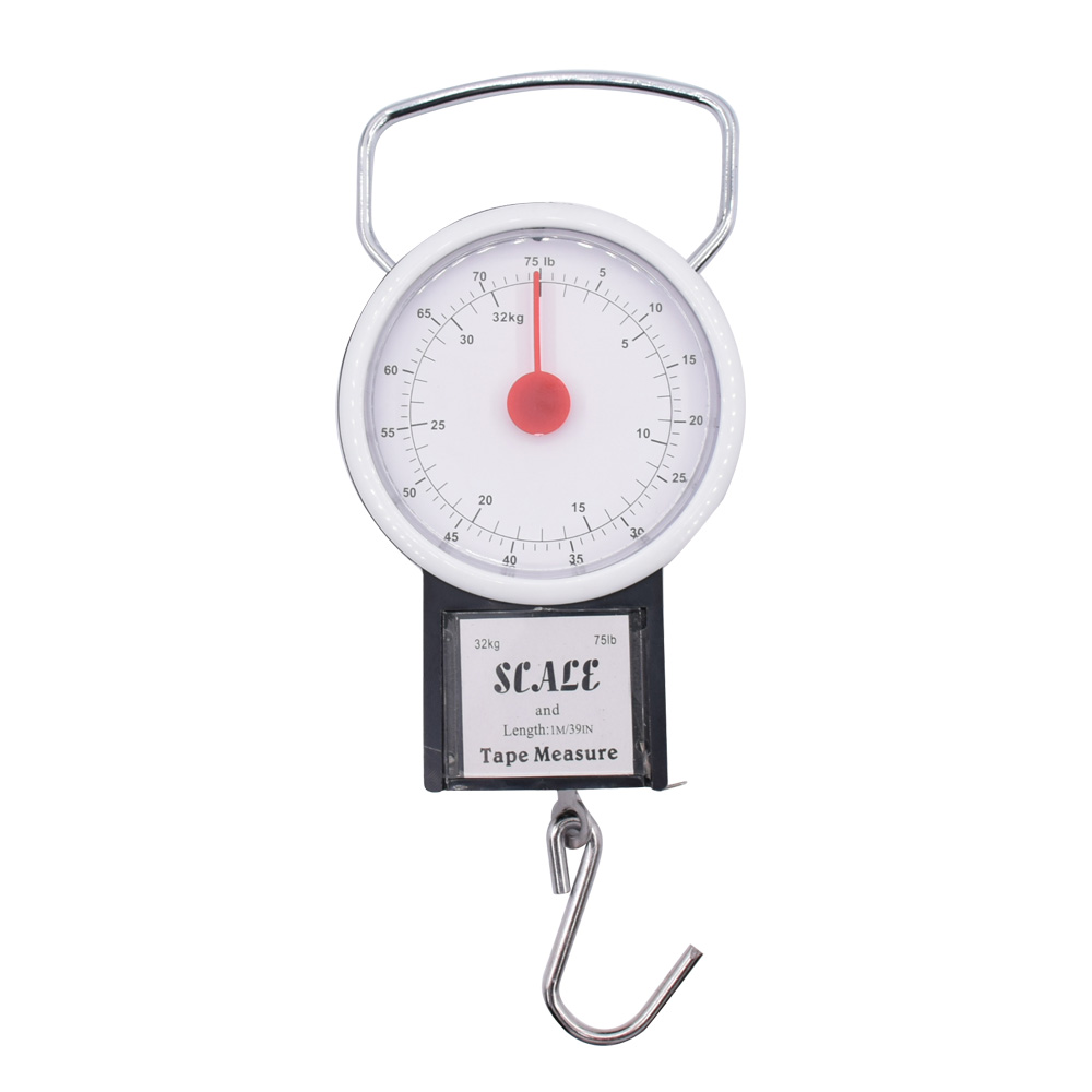 1x Sure Travel 32kg Hand Luggage Suitcase Baggage Weight Hook Scales Single Pack