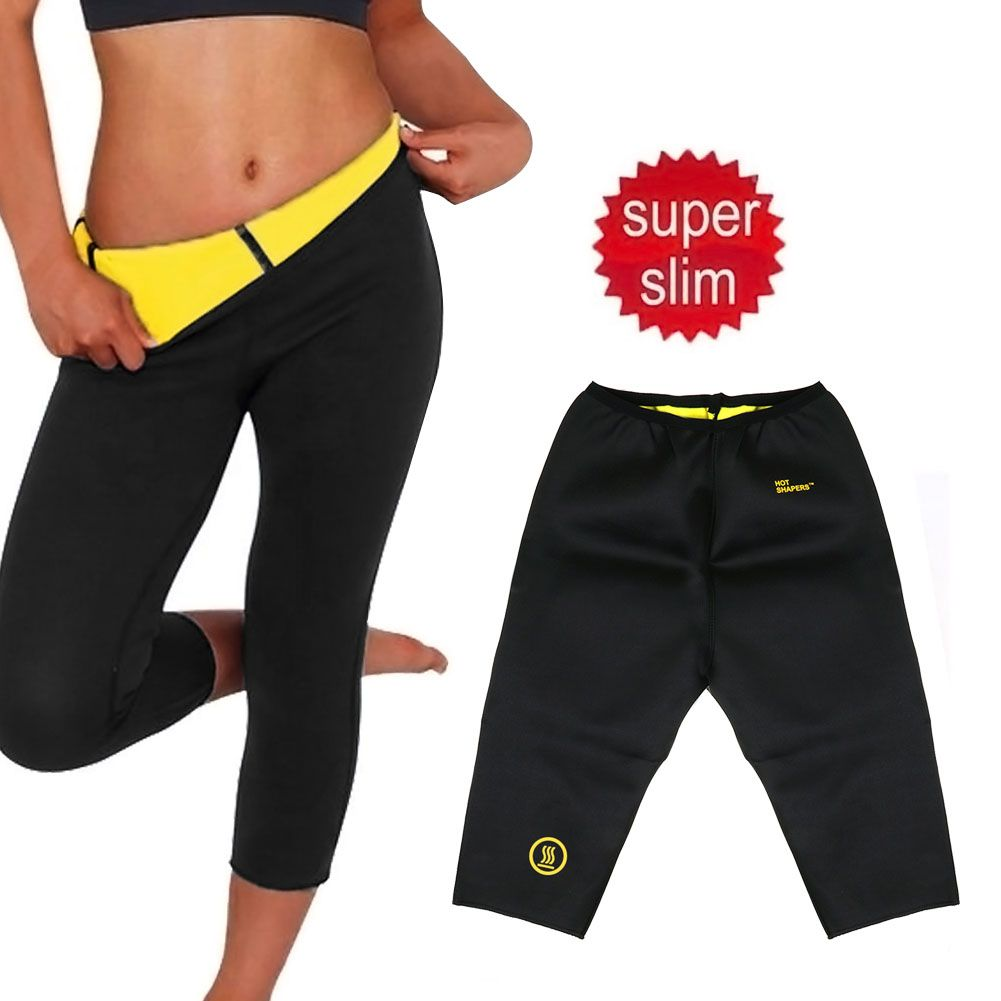 Abnehmen Sauna Schwitzhose Shorts Fitness Shaper Sporthose Abnehmhose S XXL