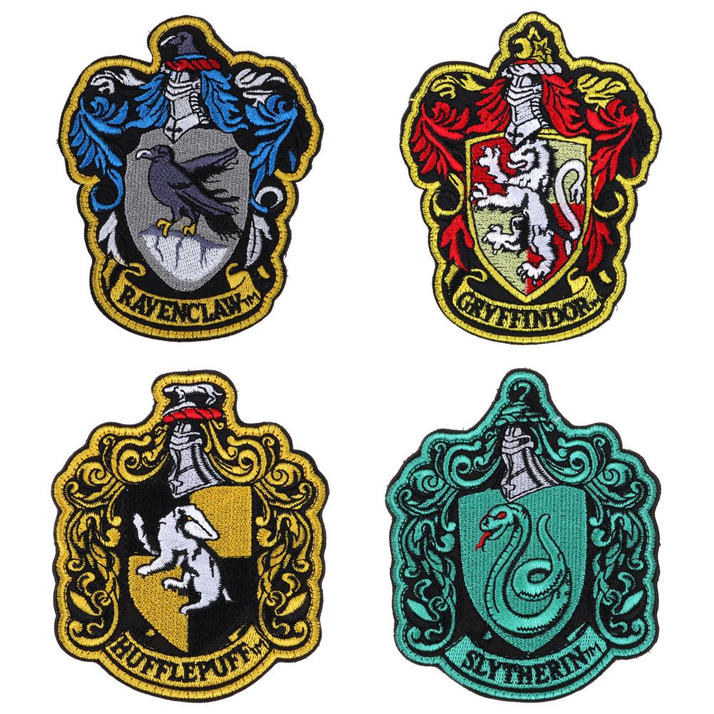 Harry Potter Ecusson Brod 233 Ecole Gryffondor Hufflepuffs