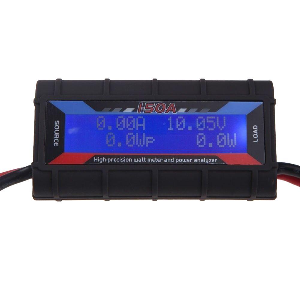 LCD 150A Leistungsanalysator Watt Meter Strom Monitor Solar Wind Power Analyzer