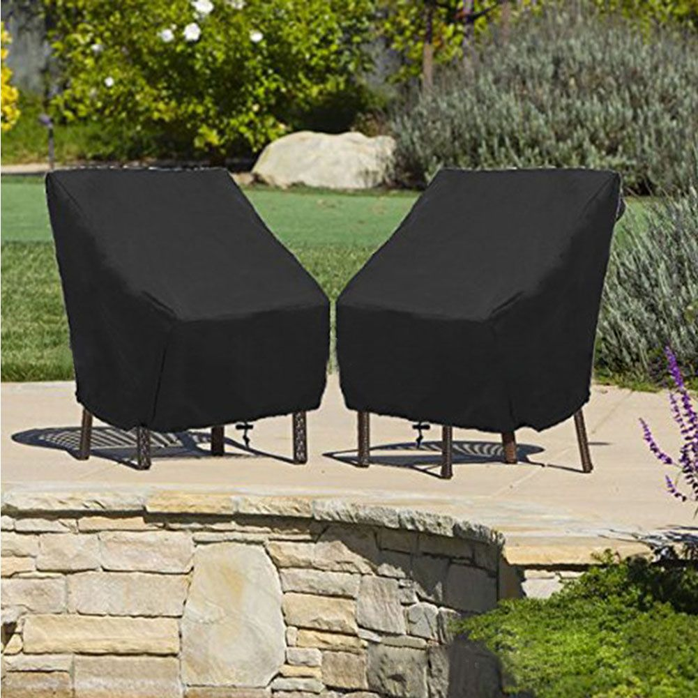 Details About 47 Waterproof Patio Single High Back Chair Covers Outdoor Furniture Protection