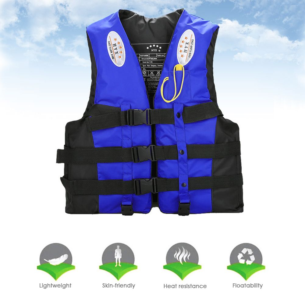 Professional Life Jacket for Kids Adults Buoyancy Aid Survival Vest Ideal for Swimming Boating Kayak Canoeing Pink//Blue