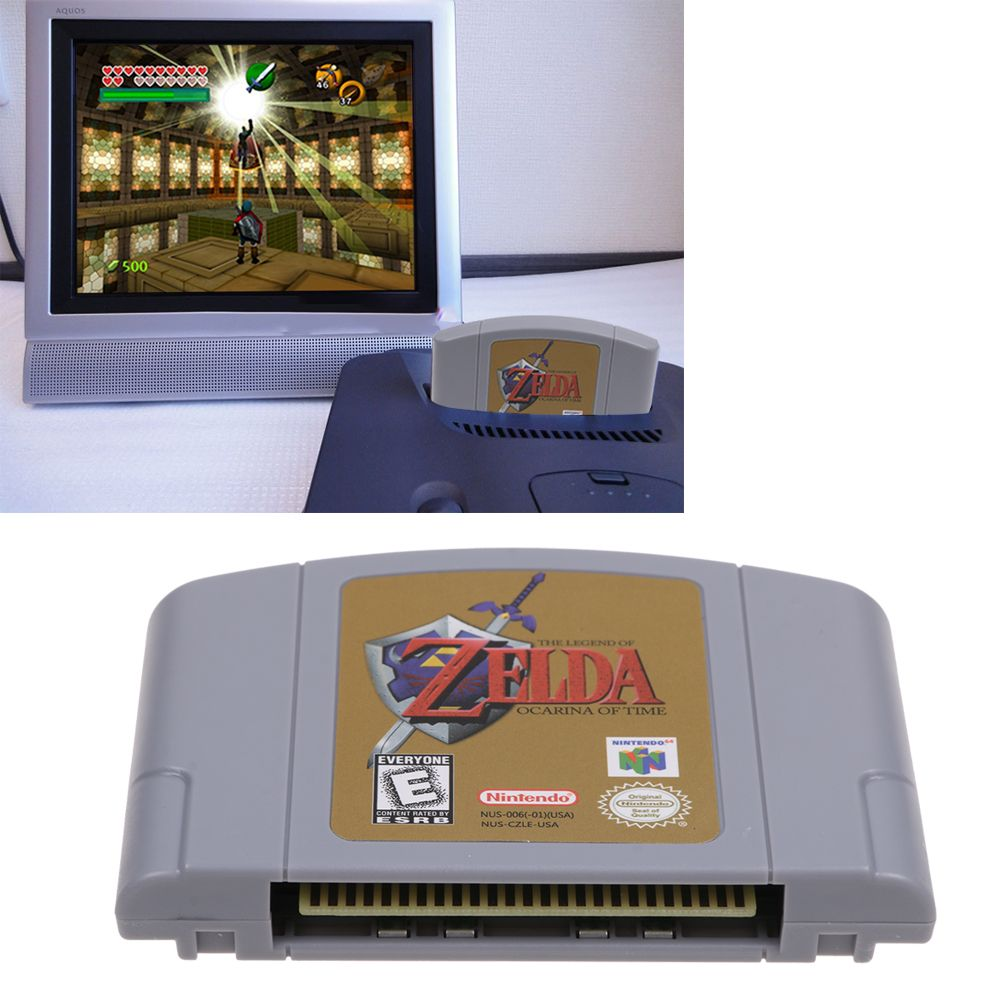 Details about For Nintendo 64 N64 Game Cartridge Card - The Legend Of Zelda  Ocarina of Time