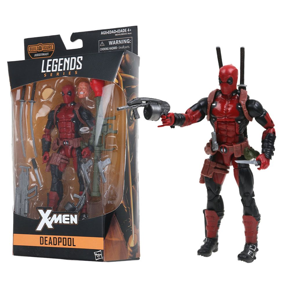 "6/"" Marvel Superheroes Deadpool Action Figure Gift  Toy No Box"