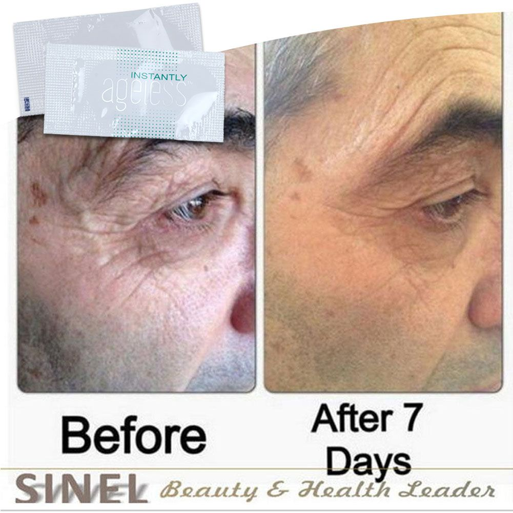 50 Sachets Jeunesse Instantly Ageless Anti Wrinkle Eye And