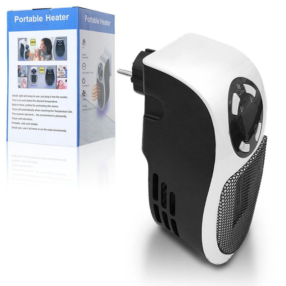 500 watt handy heater mini heizung heizstrahler f r die. Black Bedroom Furniture Sets. Home Design Ideas