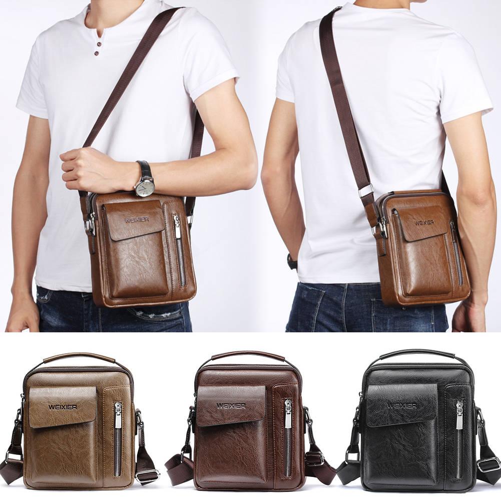 Details about Fashion Mens Messenger Bags Shoulder Bag Tote Handbag  Briefcase Bag Shoulder Bag 5ee673396a