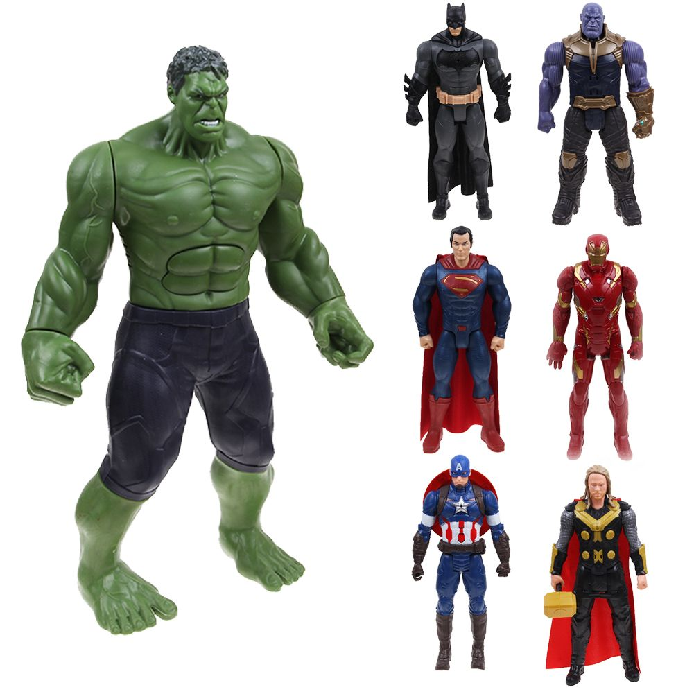 "Avengers EndGame Hulk Spiderman Thanos 12/"" Souding /& Glowing Figure Toy Gift"
