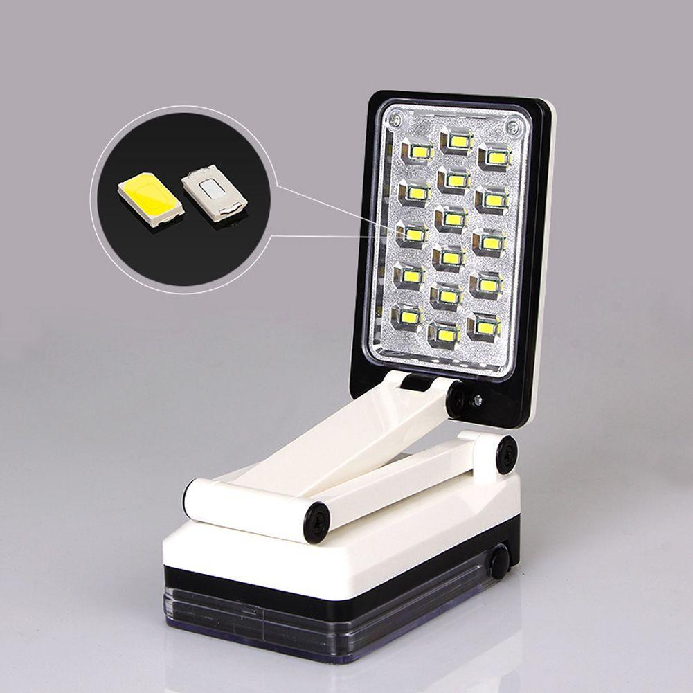 led kunststoff schreibtischlampe faltbar akku lampe dimmbar tischlampe ladekabel ebay. Black Bedroom Furniture Sets. Home Design Ideas