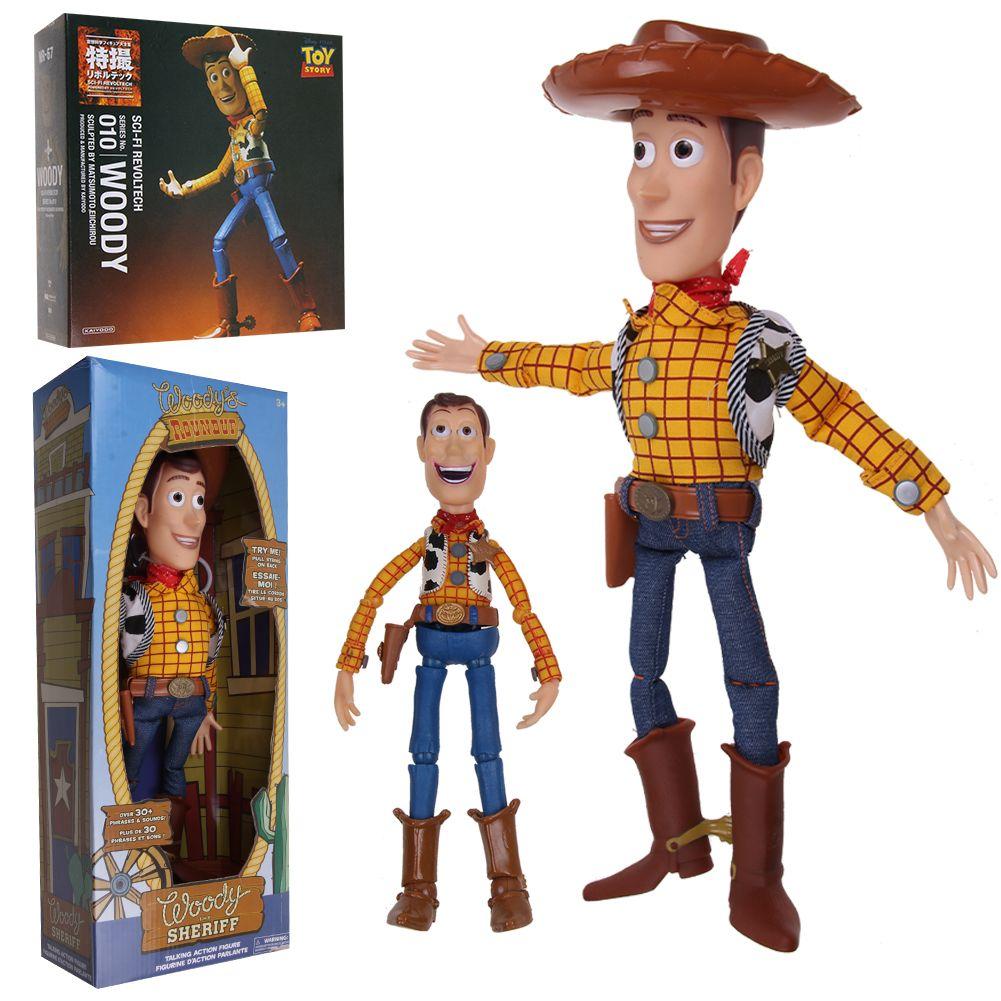 Toy Story Woody DEUTSCH sprechende Figur 15 Sprüche Phrasen Toy Story 4 Film- & TV-Spielzeug