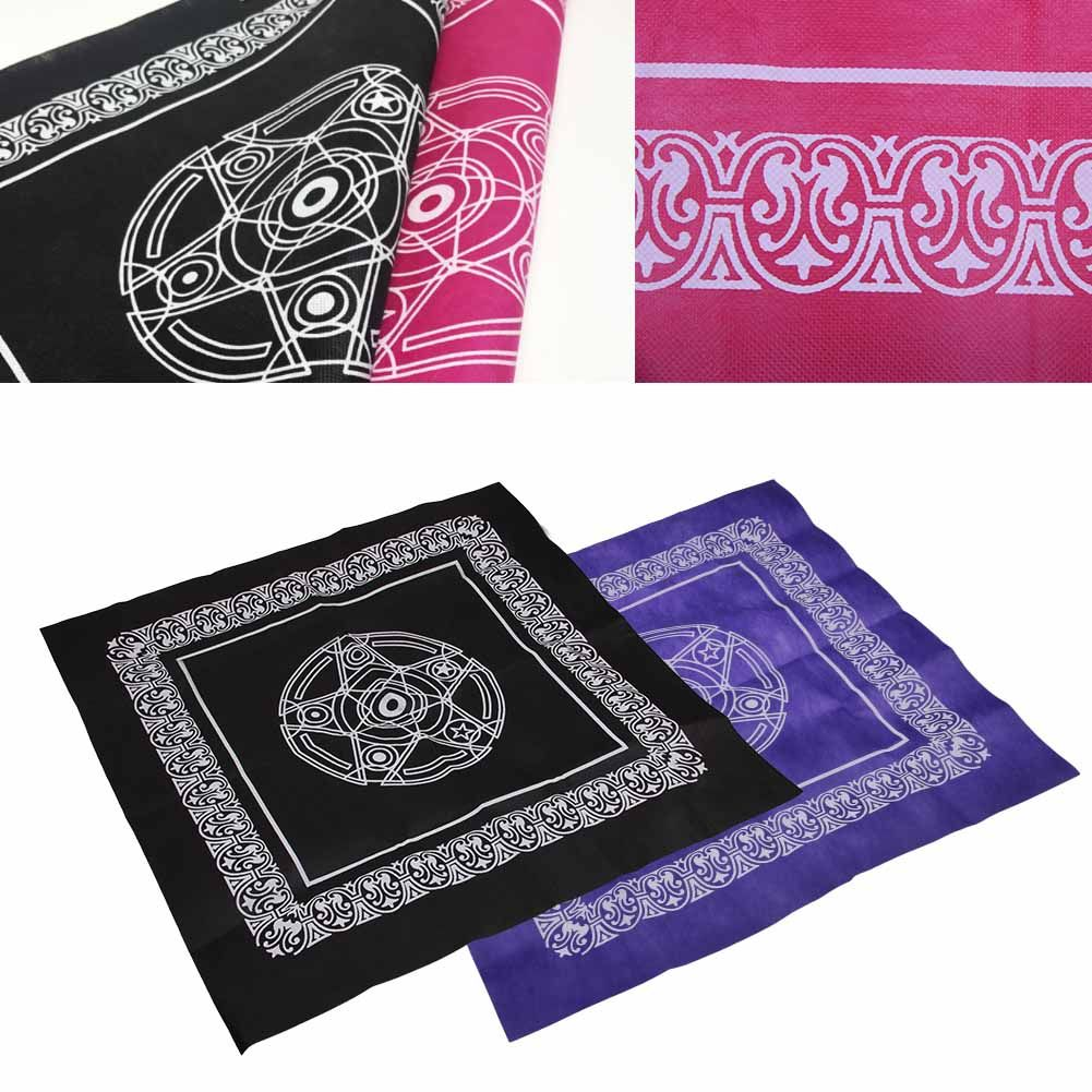 49cm Altar Tarot Tablecloth Table Cloth Decor Divination Card Square Tapestry