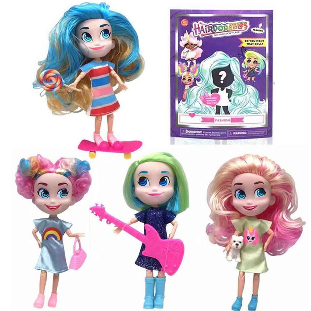 Hairdorables Collectible Surprise Dolls And Accessories Kids Toys Ebay
