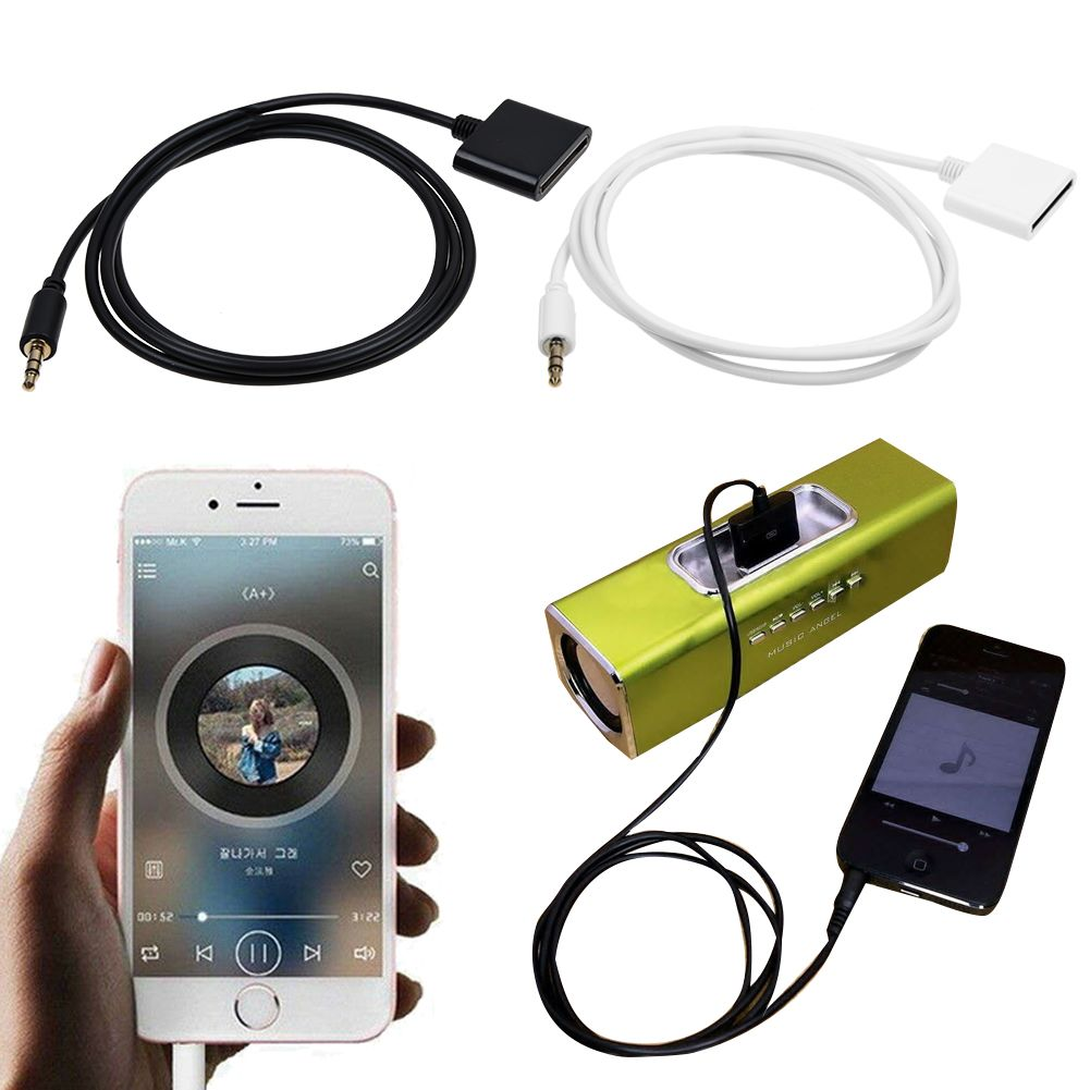 3.5mm Audio iPod iPhone Dock Adapter AUX Cable BRAND NEW