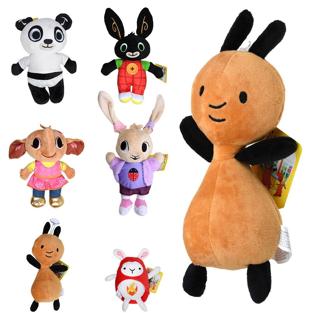 Bing Bunny Plüsch Spielzeug Sula FLOP PANDO Stuffed Rabbit Puppe Geschenk Xmas