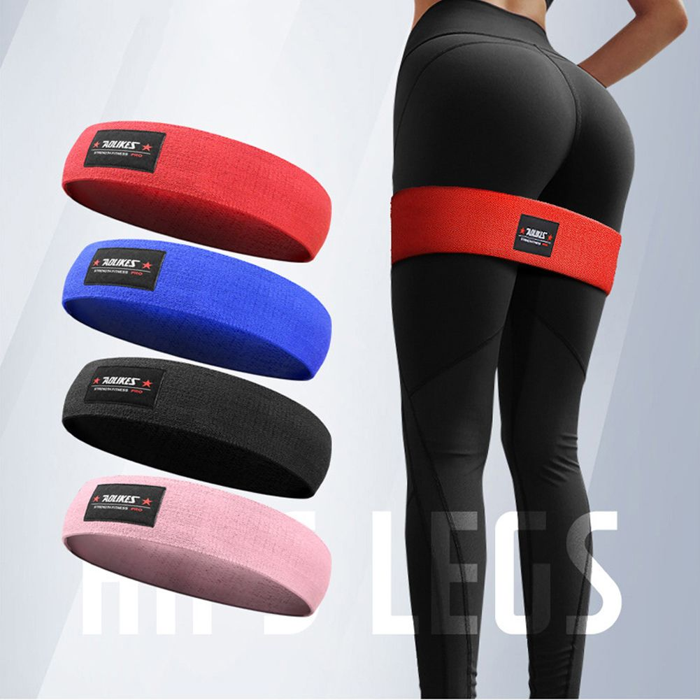 HIP CIRCLE Glute Resistance Band Hip Exercise Heavy Duty Bands Gym Fitness Squat