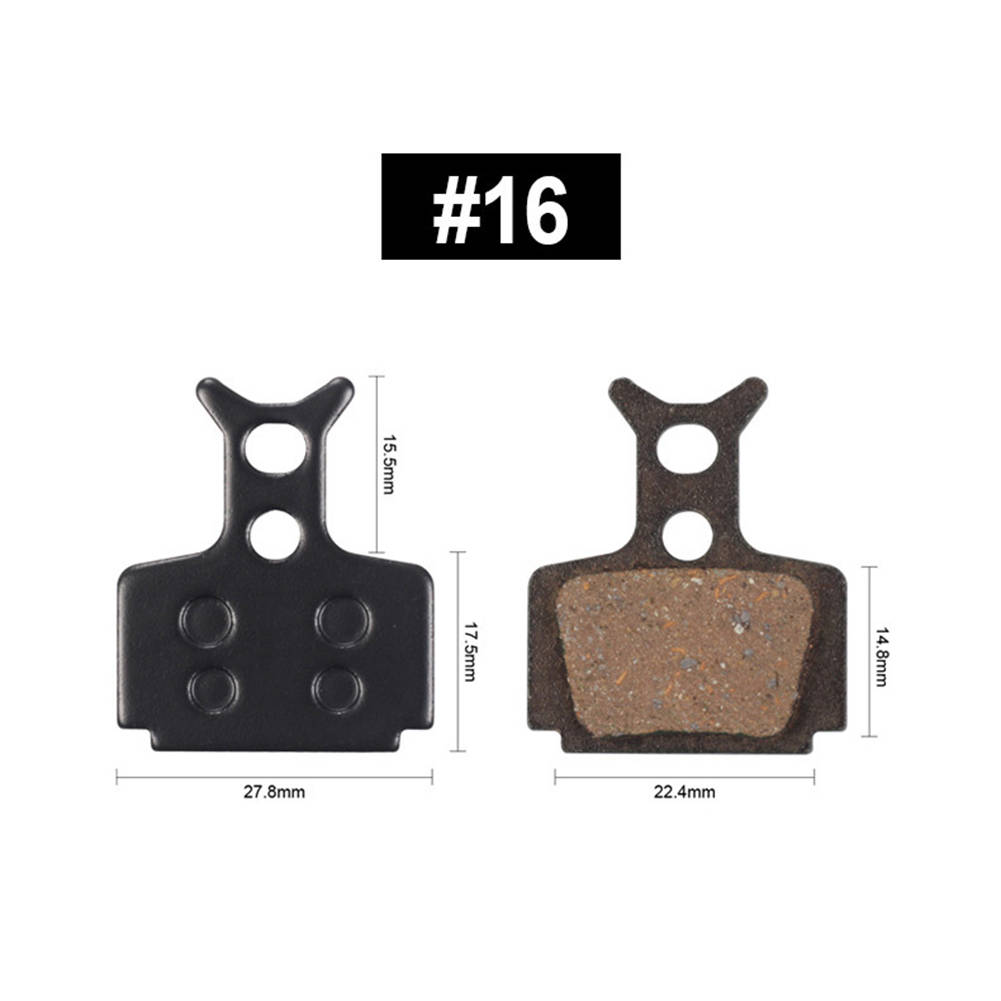 2x MTB Mountain Bike Cycling Metal Disc Brake Pads for Shimano M446 355 395 BB5