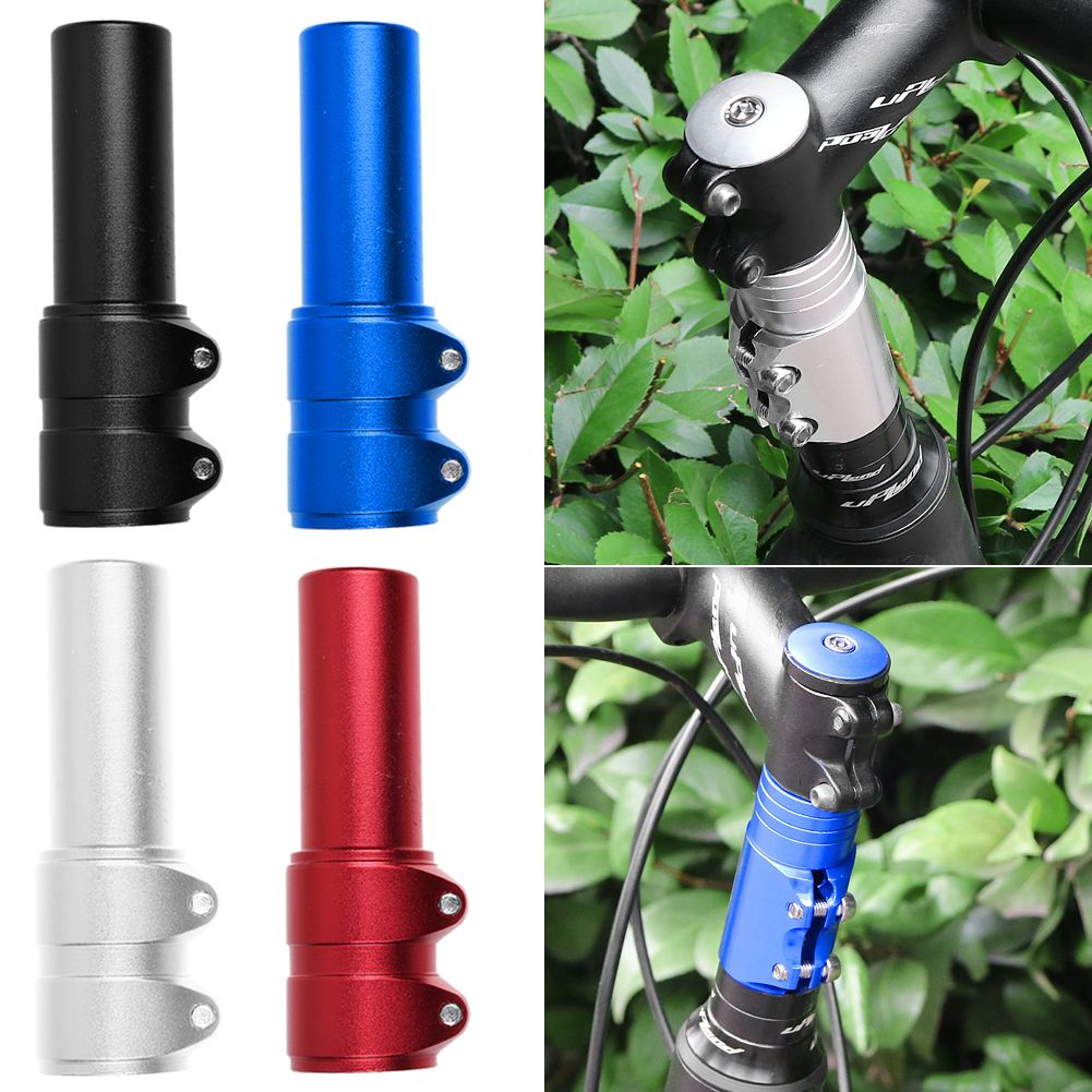 Bicycle Handlebar Fork Stem Extender Riser Head Up Height Adjustable Adaptor NEW