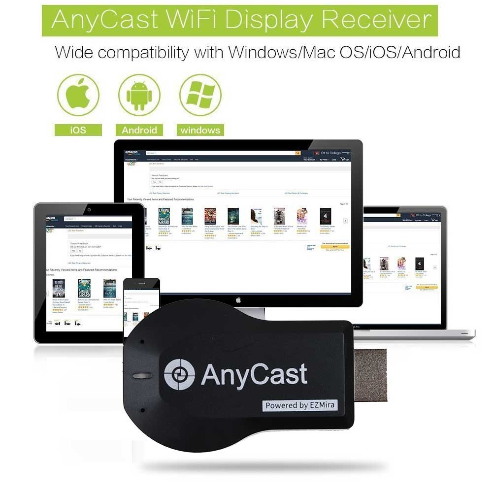 Details about AnyCast TV Stick Dongle HDMI 1080P Miracast DLNA Airplay WiFi  Display HD Media