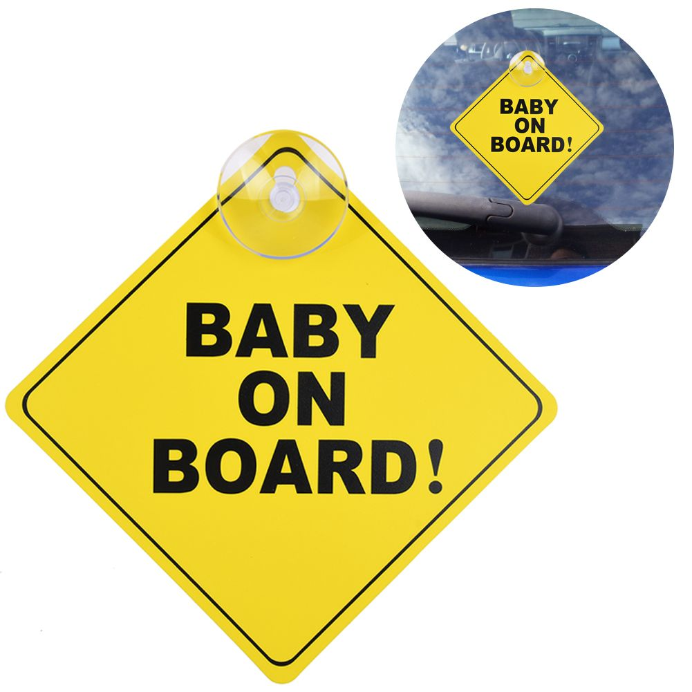 GRANDKIDS ON BOARD WARNING SAFETY SIGN STICKER Vinyl Decal for cars windows