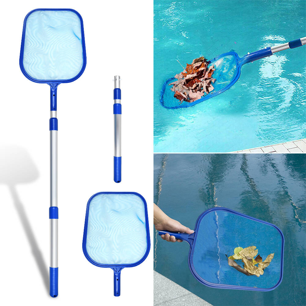 HydroTools 4/' Telescopic Leaf Debris Spa Swimming Pool Skimmer Maintenance Net