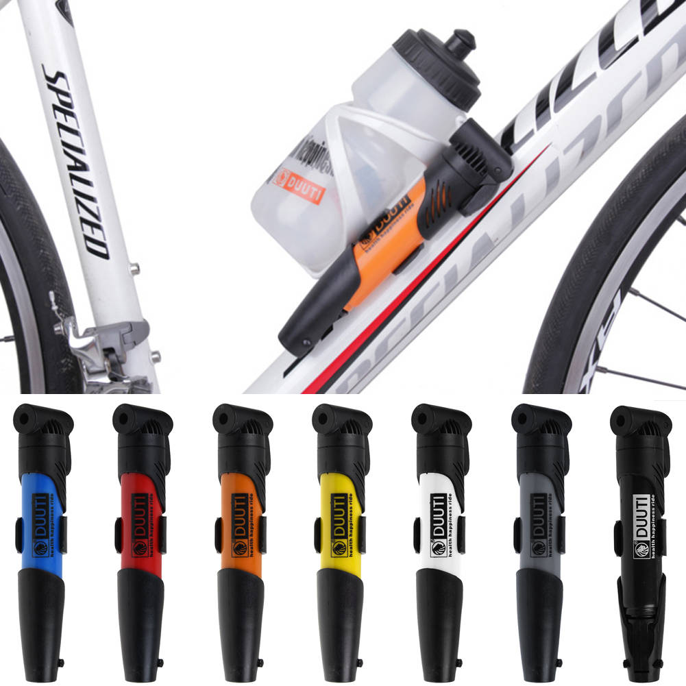 Presta Schrader Bike pump bicycle  Cycling Air Pump Inflator for Tyre Tire Ball