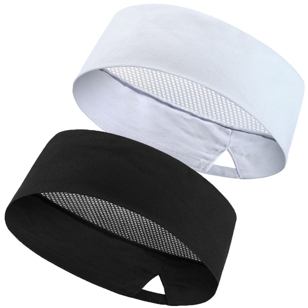 New Hot Popular Pleated Chefs Catering Hat Cook Food Prep Kitchen Round Cap